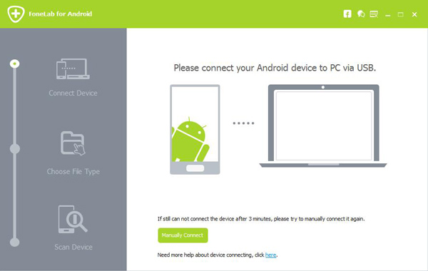Launch Android Data Recovery