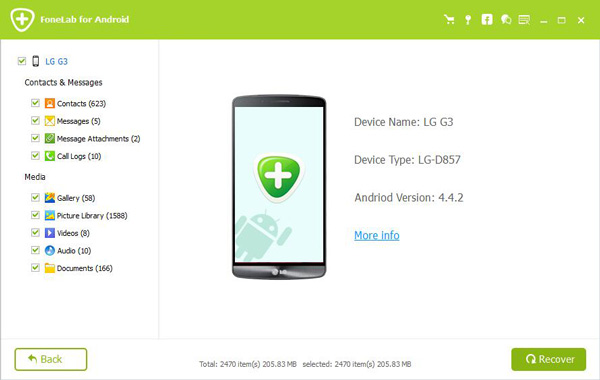 Recover Deleted Pictures on Aandroid